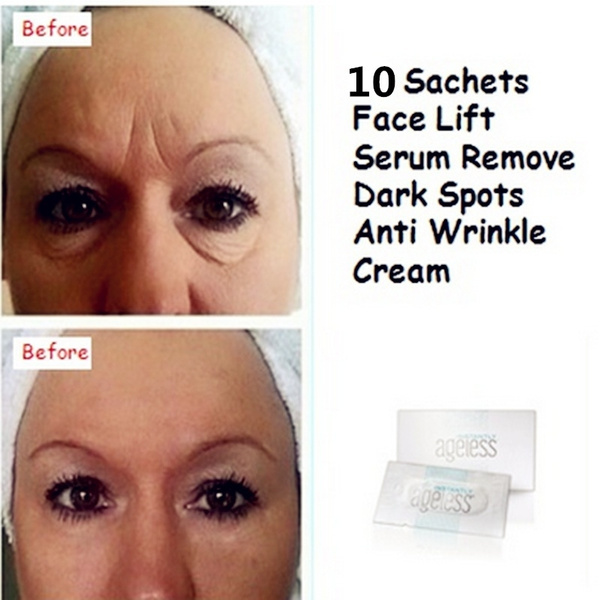 Hot 10 PCS/lot Jeunesse Instantly Ageless Products Anti Aging Anti Wrinkle  Cream Argireline Face Lift Serum Eye Bags Remove Make Up Beauty Products