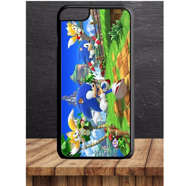 Sonic The Hedgehog & Tails Classic Retro Game fits iPhone 4 5 6 7s plus 8 X  case Samsung Galaxy S6/S7/S8