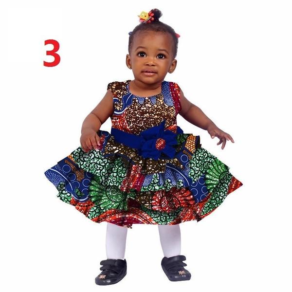 f5b912bbdec8b 2018 African Women Clothing kids dashiki Traditional Cotton Dresses ...
