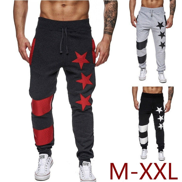 Sportlegging Winter.Men S Fashion Spring Winter Trendy Cotton Jogger Trousers Sexy High