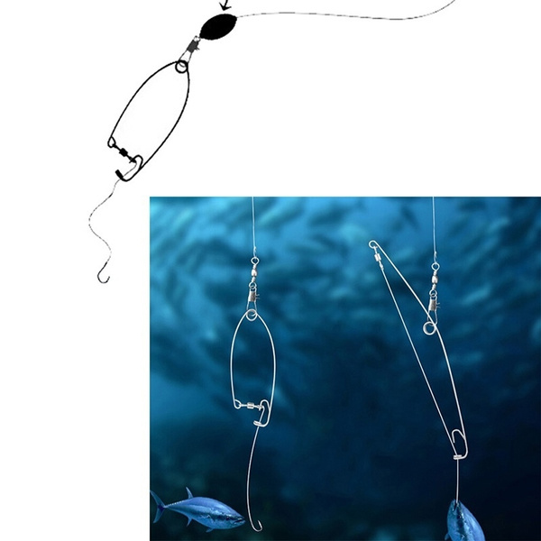 Automatic fishing hook at top speed god hook a lazy person all the water/_CH