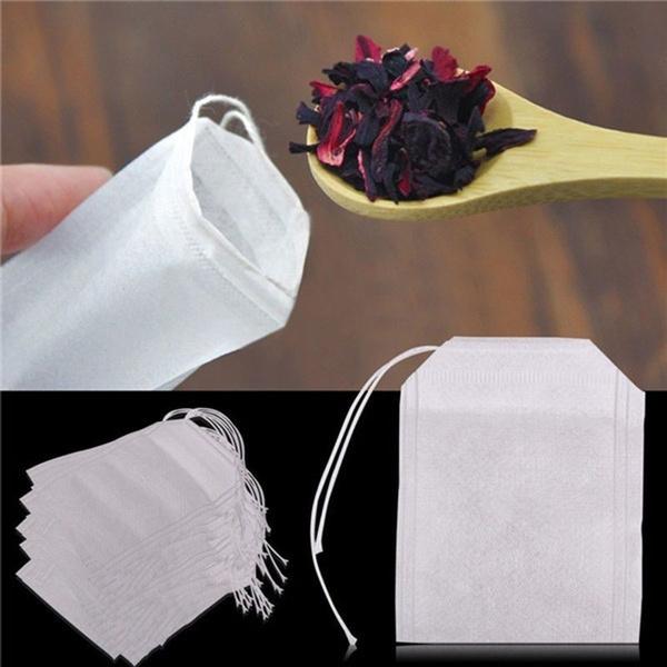 Herb, Bags, Tea, Seal
