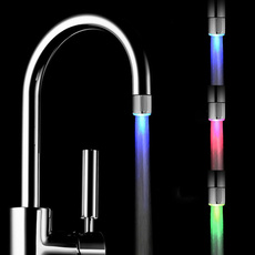 water, Faucets, LED faucet lights, led