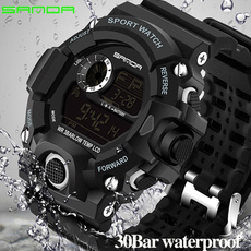 Watches, Fashion, led, casual sports watch
