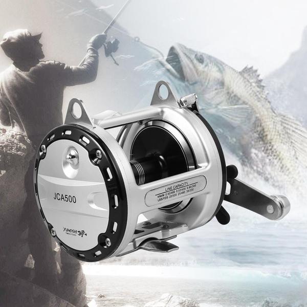 4 Types Fishing Reel 12+ 1BB Bearing Shaft Aluminum Alloy Atainless Steel  Material