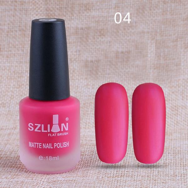 Wish | 18ml Matte Dull Nail Polish Fast Dry Long Lasting Nail Art ...