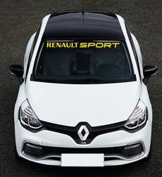 2x Renault Sport 21x3cm Aufkleber Car Window Bumper Sticker
