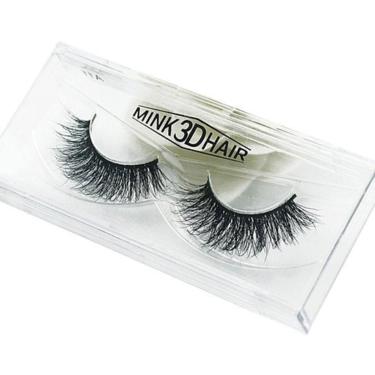 737eeacdb2d 3D Lashes Mink Hair Thick False Fake Eye Lashes Makeup Warped Eyelash  Fashion | Wish