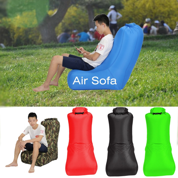 Brilliant Fast Inflatable Lazy Bag Air Sofa Polyester Air Inflatable Chair Sofa Portable Water Resistant Folding Inflatable Sleeping Lounger Portable Air Sofa Gmtry Best Dining Table And Chair Ideas Images Gmtryco