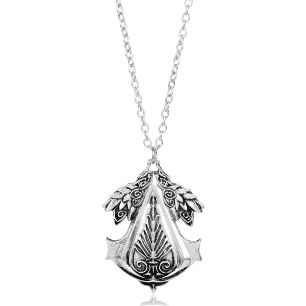 Assasins Creed Necklace Connor Amulet Assassins Creed Gear Pendant