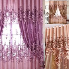 bedroomcurtain, Flowers, Door, Home Decor