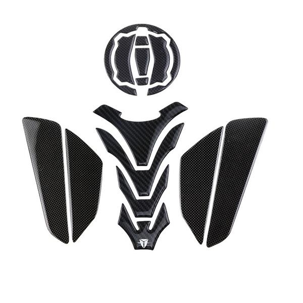 Kodaskin Carbon Tank Pad Stickers Protectors For Kawasaki Z900 Z650 Ninja650 Versys X 300