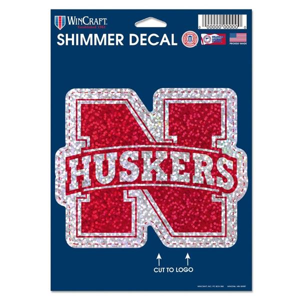 WinCraft NCAA Shimmer Decals