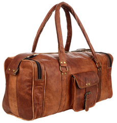 brown, picnicbasketsbackpack, leatherduffelbag, Luggage