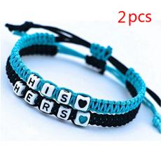 Charm Bracelet, Boyfriend Girlfriend Jewelry, Gifts For Men, Gifts