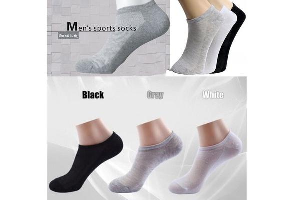Summer Unisex Breathable Ankle Socks Low Cut Casual Sport Cotton Fiber Short Loafer Boat Socks Elastic