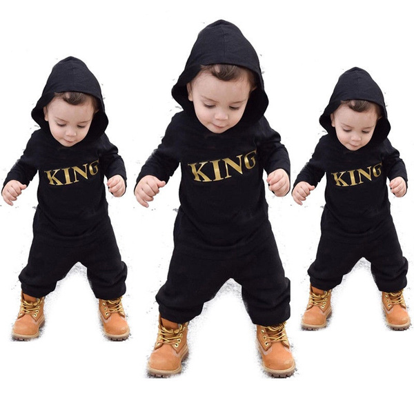 Newborn Infant Kid Boy Girl Romper Hooded Baby Jumpsuit Bodysuit Outfits Clothes