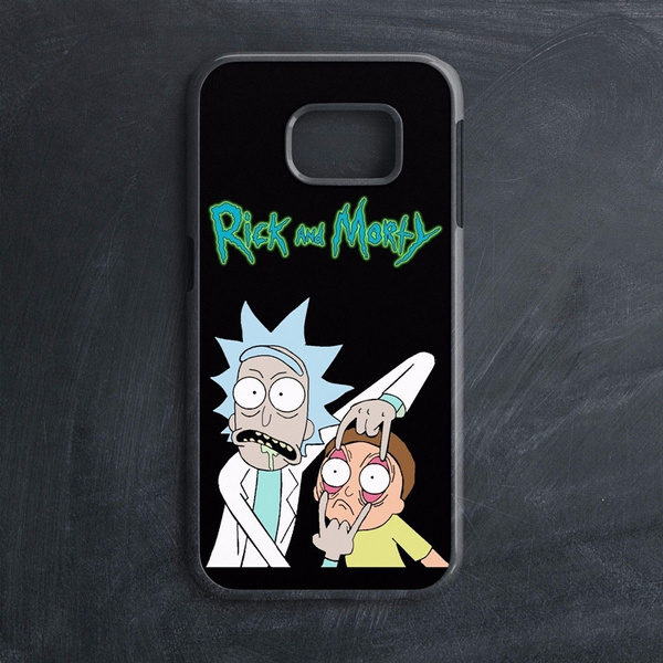 Galaxy Rick And Morty iphone case