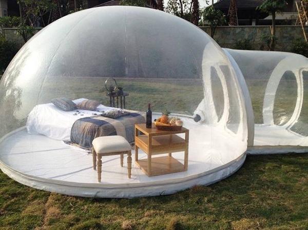 Tente Bulle Gonflable Transparente Nouveau