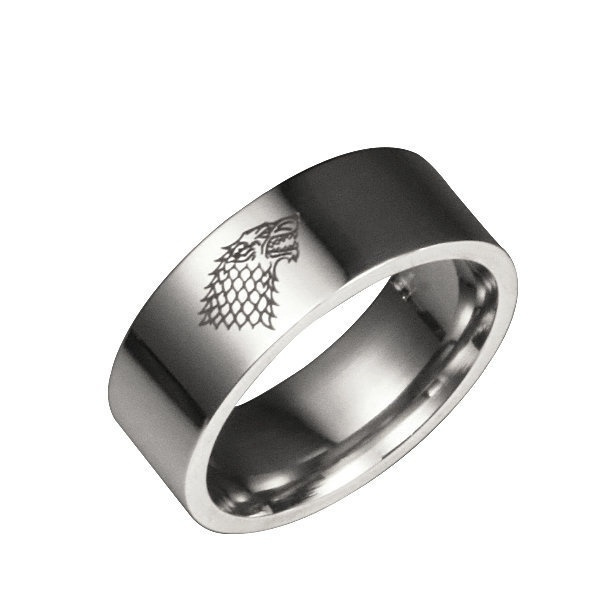 View Game Of Thrones Wolf Ring PNG