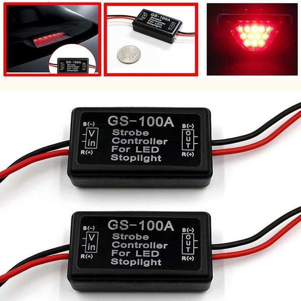 Box, led, brakelgihtcontorller, controllerflashermodule