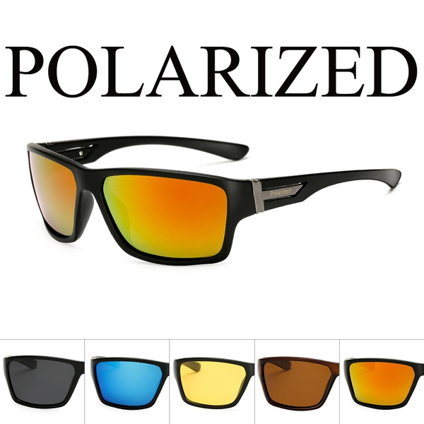 757ada5f8 Sport Polarized Sunglasses Polaroid sun glasses Mirror Windproof ...