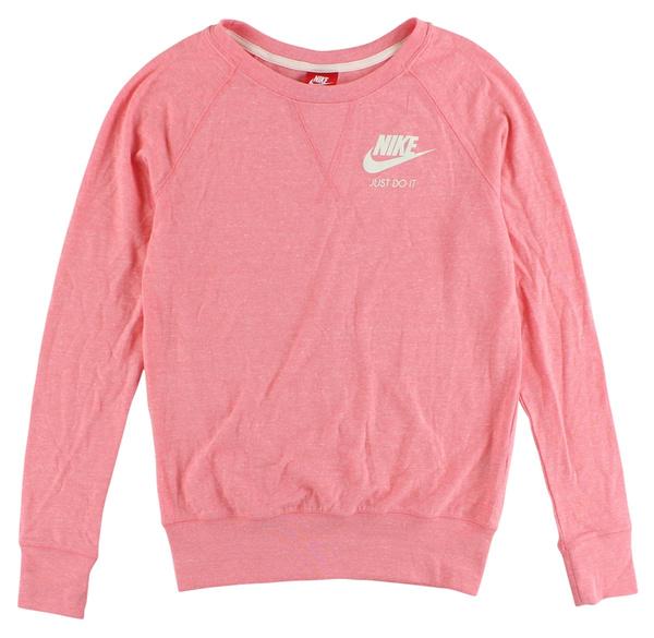 Gym Nike Vintage Pink Crew Shirt Light Womens CoEBQxeWrd