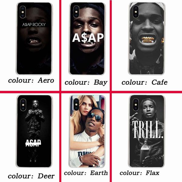 hot sale online f4d62 34df5 103wf A Ap Asap Rocky Hard Case for Coque iphone x XR XS MAX 10 8 7 6s 6  plus 5 5s 5C SE 4 4s Cover