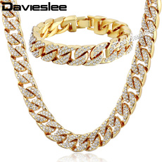 yellow gold, necklaces for men, icedoutchain, Jewelry