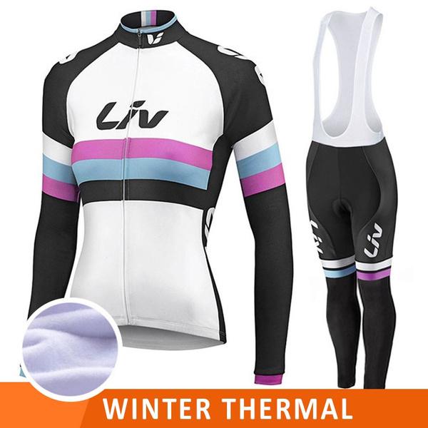 Womens Cycling Jersey Sets Long Sleeve Jersey /& Pants Cycling Clothing Long Sets