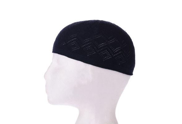 Boy Mens Kufi koofi Kofi Hat Topi Skull Cap Beanie Islamic Muslim Prayer Size
