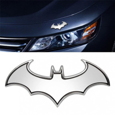 Bat, Fashion, Emblem, chrome