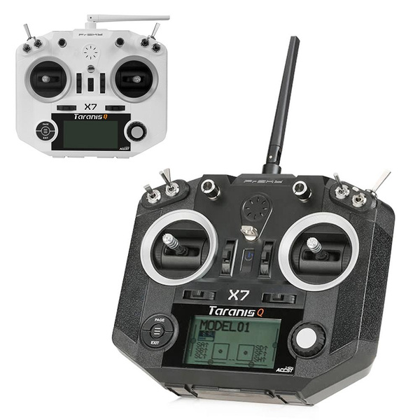 FrSky ACCST Taranis Q X7 2 4GHz 16CH Mode 2 Transmitter With Select  Receiver For RC Multicopter
