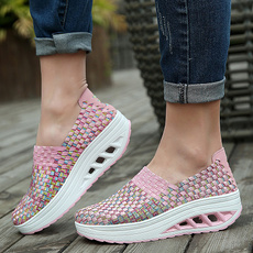 Sneakers, Fashion, Weaving, Breathable