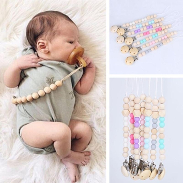 1Pc Crochet Elephant Pacifier Chain Holder for Nipples Pacifier ... | 600x600