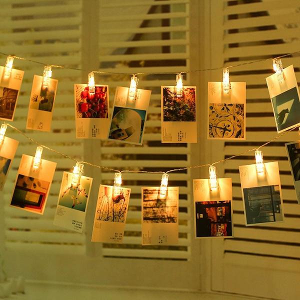 lightsforwedding, ledlightstrip, photolight, photoclipstringlight