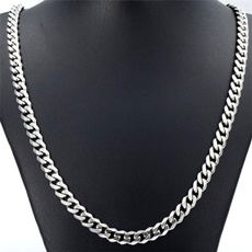 Steel, Chain Necklace, mens necklaces, Jewelry