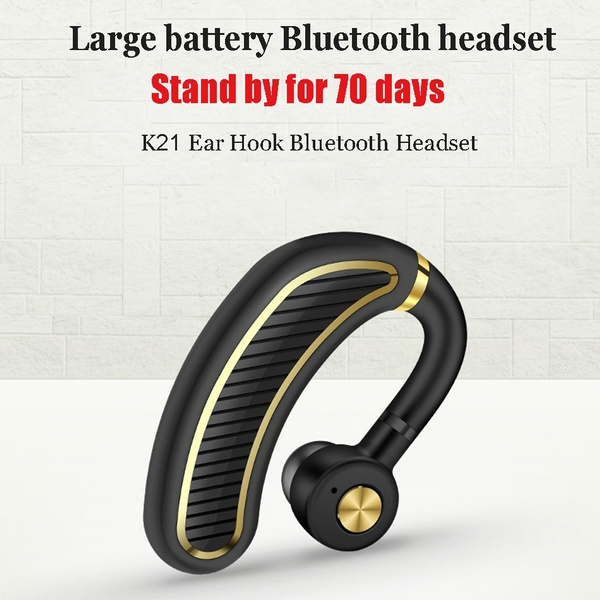 48d3fad4a3f Wireless Bluetooth 4.1 Business Headphone Earphone Super Long ...