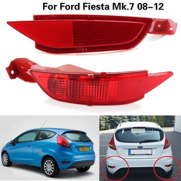 Rear Left LH Tail Brake Light Lamp Cover N//S Passenger For Ford Fiesta 08-12