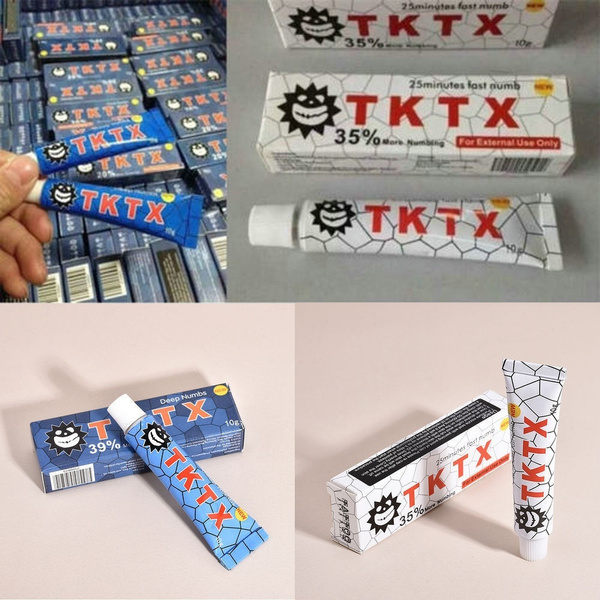 Home Tktx 35 Numbing Tattoo Body Anesthetic Fast Skin Numb Cream