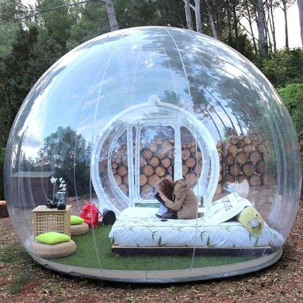 & Bubble Tent | Wish