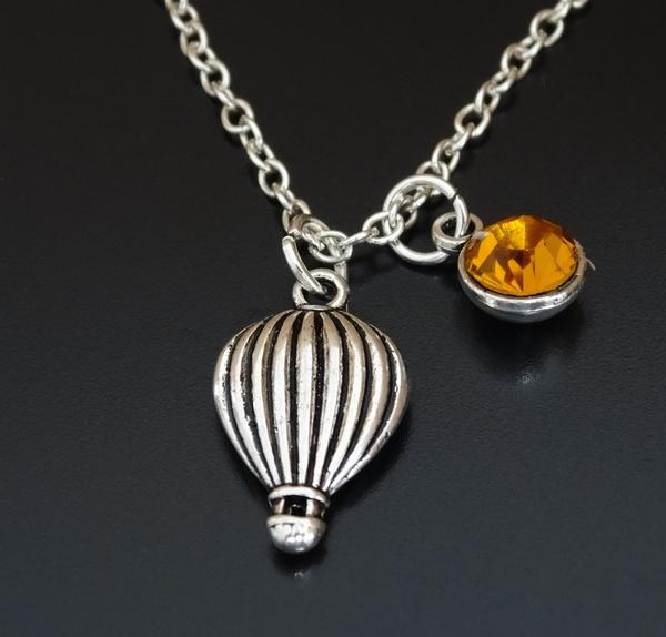 Necklace Traveller Hot Air Balloon