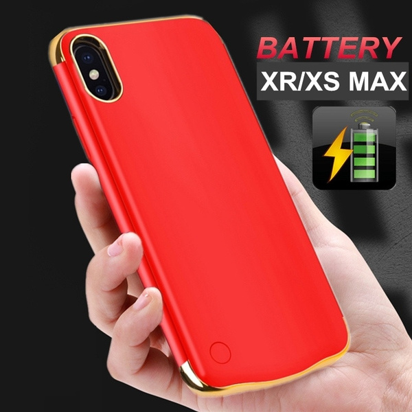 timeless design 7b0a5 4dca1 Fashion Portable Power Bank For iPhone X XS MAX XR 3500mAh 4000mAh 5500mAh  External Backup Battery Mobile Phone Charger Box Fast Charging Case For ...