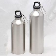New 500//1000ML Stainless Steel Drinking Water Bottle Sports Outdoor Travel Climb