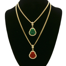 goldplated, Fashion, goldchainnecklace, gold
