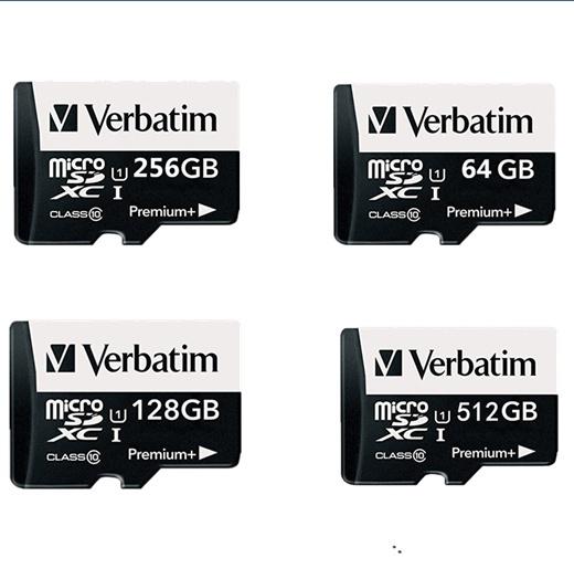 2018 100% Original verbatim Micro SD card Class10 TF card256gb 512gb 64gb  128gb 80Mb/s memory card for samrtphone and table PC