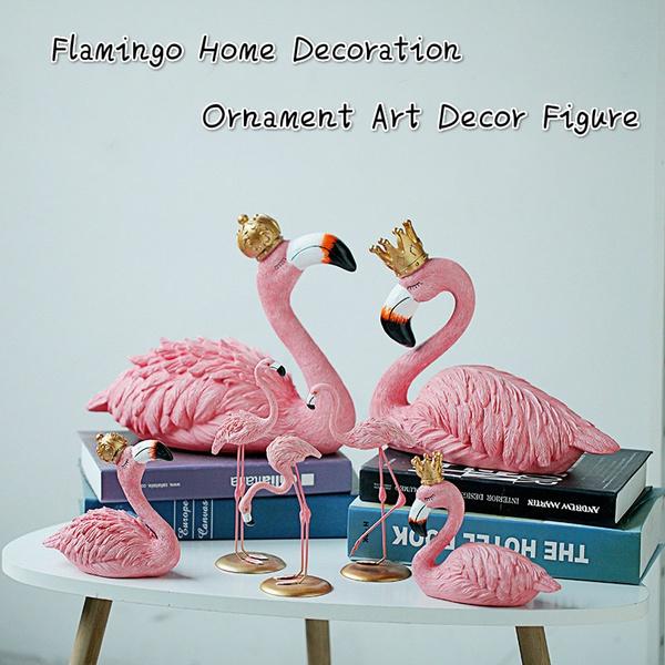 Pink Valentines Gifts Decor Flamingo