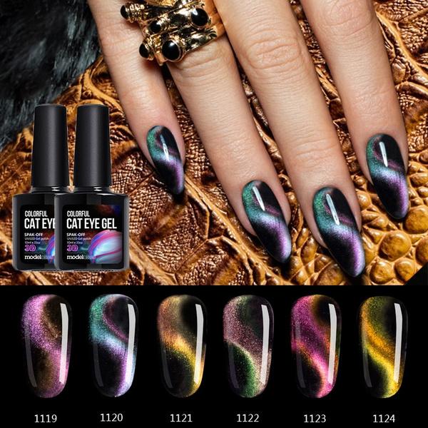 Nails, uv, eye, Beauty