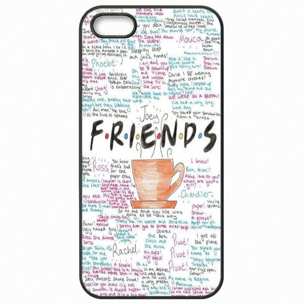 Friends TV Show poster Art Print phone case iPhone 4 5 6 7s plus 8 X case  Samsung Galaxy S6 S7 S8