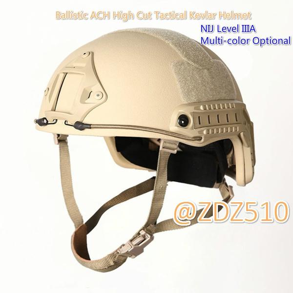 FAST Tactical Helmet made with Kevlar NIJ IIIA Ballistic High Cut